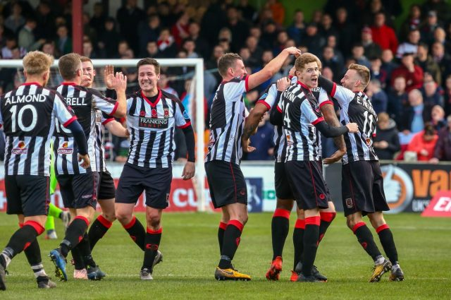 Harriers in Magpies' sights