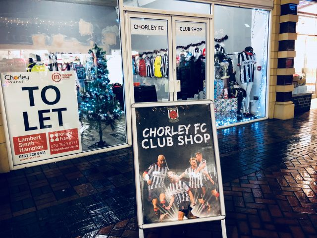 Pop-up Club Shop open on Market Walk