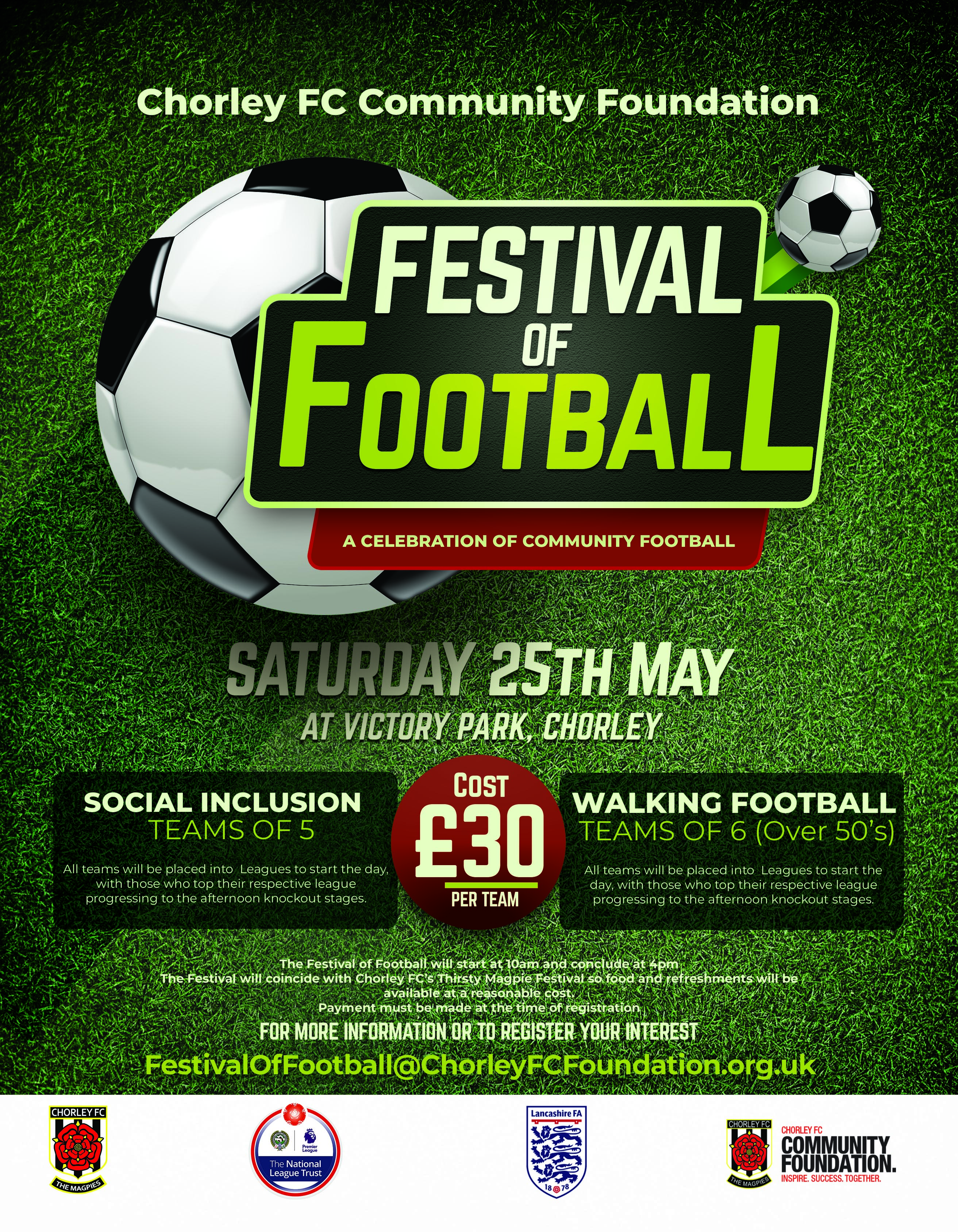 Community Foundation launches 'Festival of Football'