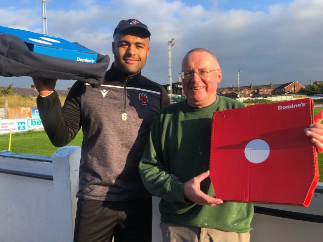 Domino's competition winner for October